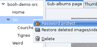 booh password protection step1